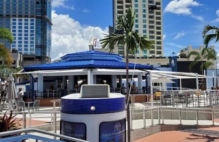 Restaurant Shade Sails