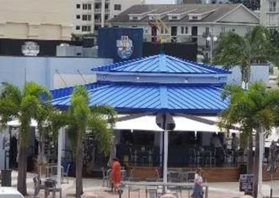 Restaurant Shade Sails