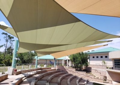 Amphitheater Shade Sails