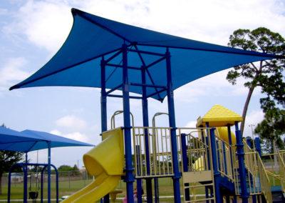 Playground Attached Shade