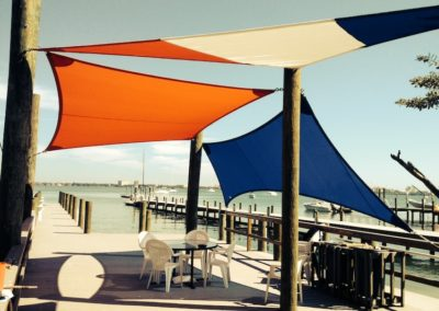 Shade Sails Wood Post