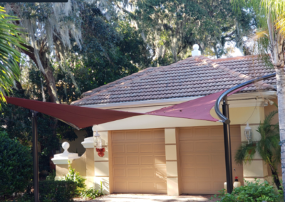 Custom Residential Shade Sails